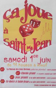 Fête du jeu 2019 Saint-Jean-Trolimon